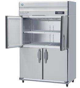 幅1200 奥行650 ホシザキ タテ型冷凍庫 容量817L ワイドスルー HF-120AT-ML