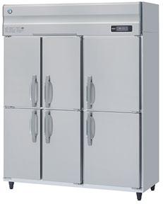 幅1500 奥行650 ホシザキ タテ型冷凍庫 容量1034L 6枚扉 HF-150AT3-6D
