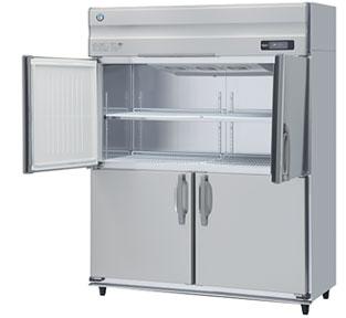 幅1500 奥行650 ホシザキ タテ型冷凍庫 容量1047L ワイドスルー HF-150AT3-ML