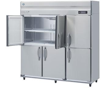 幅1800 奥行800 ホシザキ タテ型冷凍庫 容量1624L ワイドスルー HF-180A3-ML