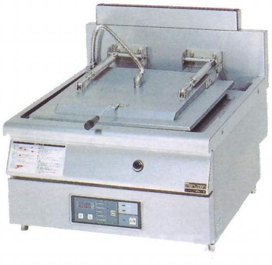 幅650 奥行750 マルゼン ガス自動餃子焼器 フタ固定タイプ MAZ-10