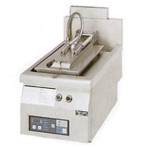 幅650 奥行750 マルゼン ガス自動餃子焼器 フタ固定タイプ MAZ-4