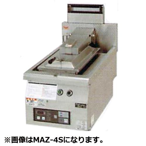 幅650 奥行750 マルゼン ガス自動餃子焼器 フタ取外しタイプ MAZ-44S