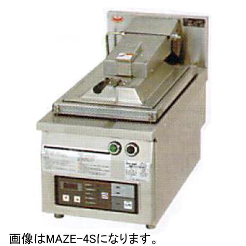幅410 奥行600 マルゼン 電気自動餃子焼器 フタ取外しタイプ MAZE-6S