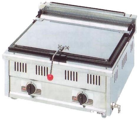 幅600 奥行600 スタンダードシリーズ(ガス)餃子焼器 MGZ-066
