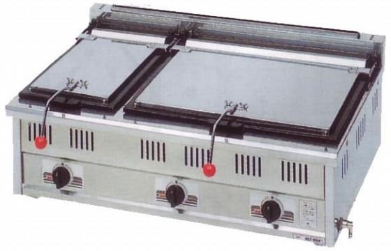 幅900 奥行600 スタンダードシリーズ(ガス)餃子焼器 MGZ-096W
