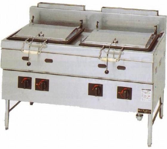 幅1300 奥行750 本格派シリーズ(ガス)餃子焼器 MGZS-137WB