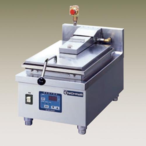新品 幅330 奥行600 ニチワ電機 電気自動餃子焼器 1連式 卓上タイプ NGM-2-8AC