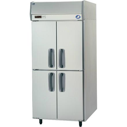 幅900 奥行800 パナソニック タテ型業務用冷蔵庫 ピラー有り SRR-K981