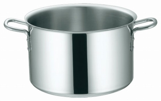 369-02 KO 3層鋼クラッド 半寸胴鍋 27cm 104012540