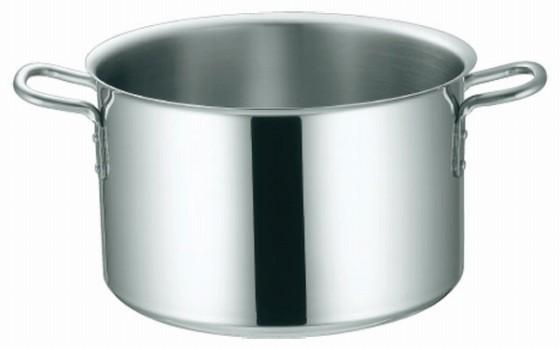 369-02 KO 3層鋼クラッド 半寸胴鍋 39cm 104012580
