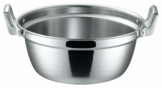 369-06 KO 3層鋼クラッド 段付鍋 30cm 104012800