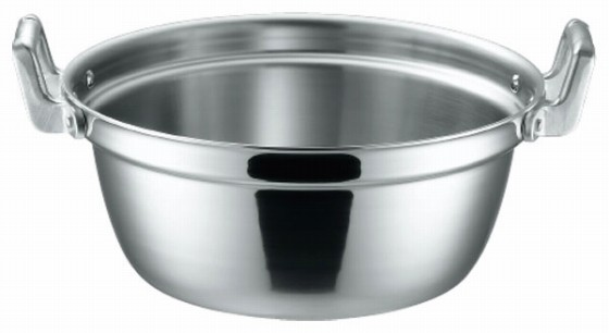 369-06 KO 3層鋼クラッド 段付鍋 36cm 104012820