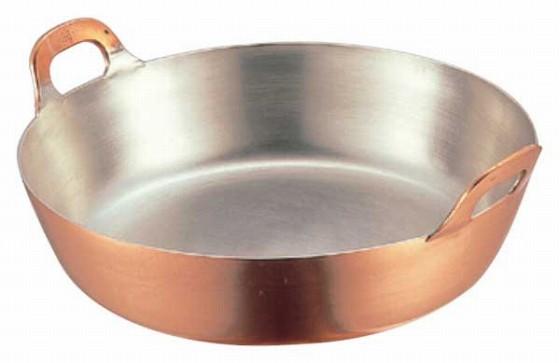 507-01 ENDO 銅揚鍋 39cm 106000390