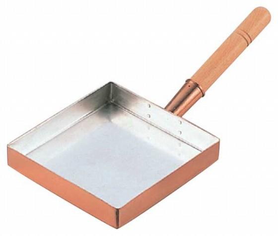 517-01 銅玉子焼 関東型 15cm 106000720