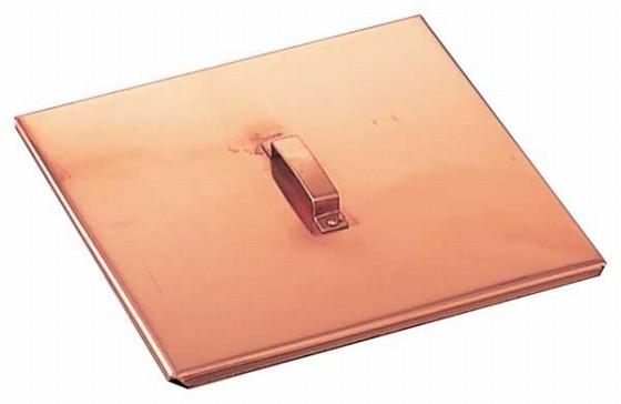517-07 銅製玉子焼用蓋関東型 18cm用 106001000