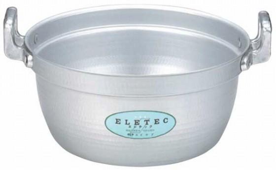 374-04 エコクリーン アルミエレテック料理鍋 45cm 11014860
