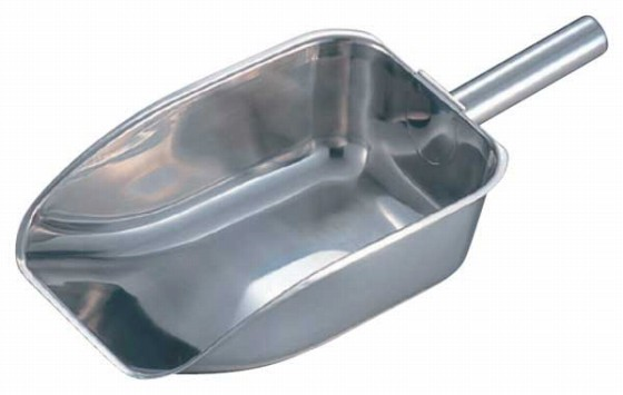 657-01 ENDO 丸型ハンドル氷スコップ (粉仕様) 特大 128029530