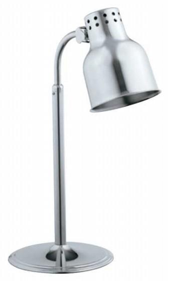 689-13 SW ステンレス ランプウォーマー 1灯式ロータイプ 128035370
