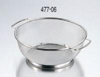 477-06 18-8ミネックスザルB型 24cm 138001020