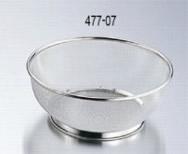 477-07 18-8ミネックス丸ザル 21cm 138001050