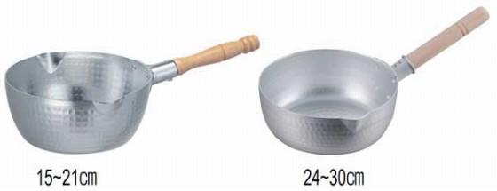 396-10 ホクア雪平鍋用木柄 18cm用 211001560