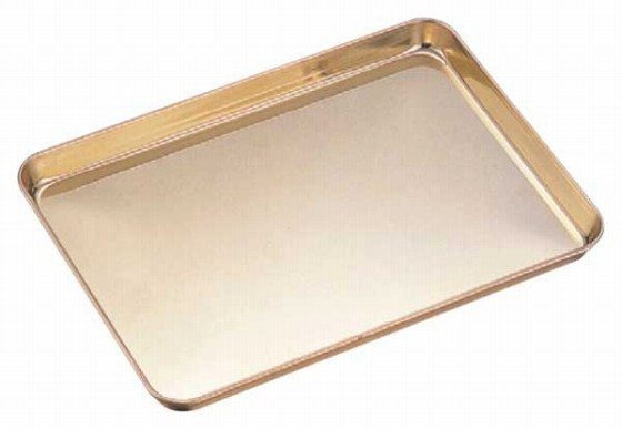 416-03 ケーキバット ゴールド仕上げ 10吋 22010740