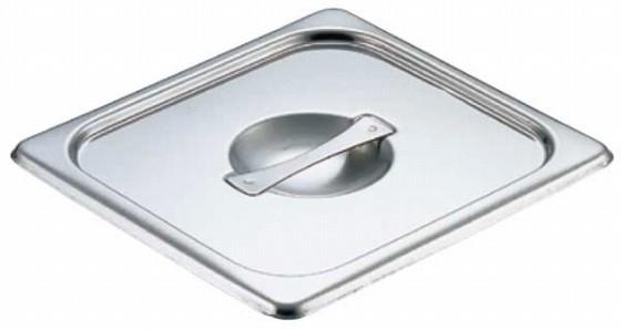 448-04 クローバー 18-8テーブルパン蓋 1/2用 22011440