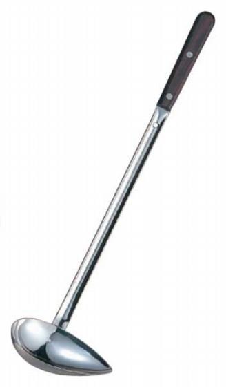 609-08 マルタマ ローズ柄ろう付け横口サービス レードル(スポット溶接+ろう付け) 90cc 30004470