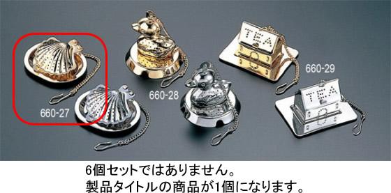 660-27 シェル型 ティーストレーナー ゴールド 31001840