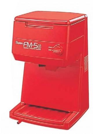 653-04 スワン アイススライサー FM-5S レッド 311000650