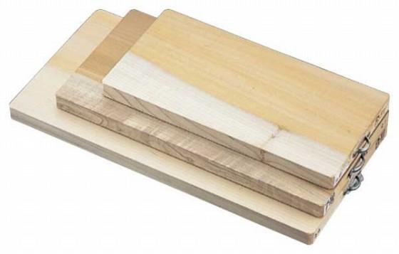 603-12 朴家庭用まな板 360×180×24 326000530