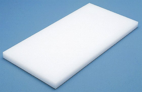598-01 K型 プラスチック まな板 K6 片面シボ付 厚さ10mm 330009350