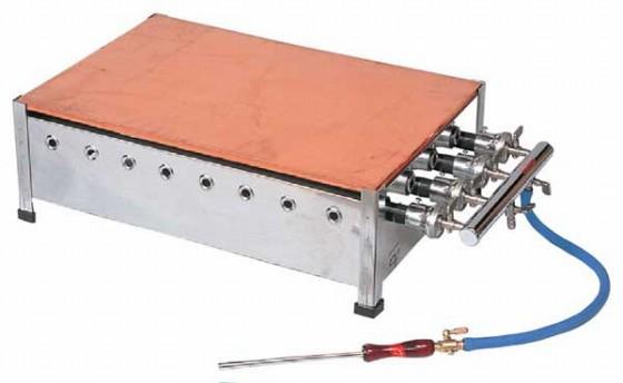 715-02 ホットケーキ磨鉄板付 HF-18 プロパン 379002260