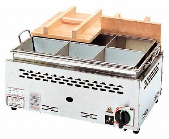 686-07 湯煎式おでん鍋(自動点火) ONG-1013 379003180