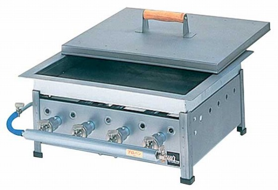 486-03 餃子焼器平型 GH-13 プロパン 379003340