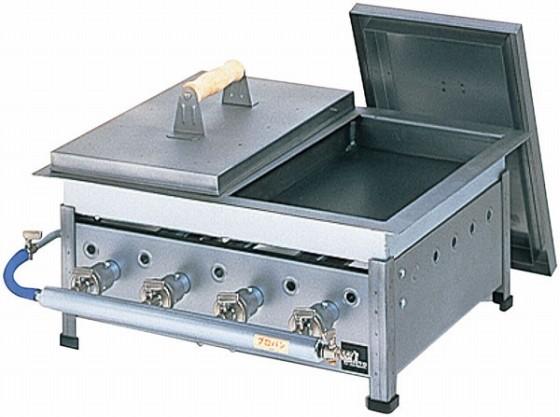 486-04 餃子焼器仕切付 GS-18 プロパン 379003380