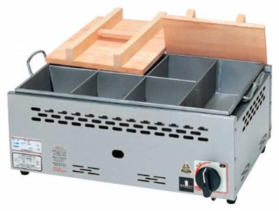 686-06 直火式おでん鍋固定仕切付(自動点火) ONG-215 379003970