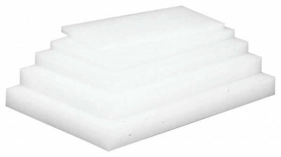 597-01 業務用まな板 ホワイトップ (ポリエチレン) 厚さ15mm 幅1000 奥行500 391005090