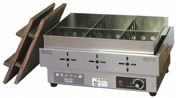 686-01 電気おでん鍋 NHO-6SY(6ツ切) 396000580