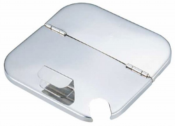 382-03 UK 角深型 キッチンポット用割蓋 13.5cm用 41051900