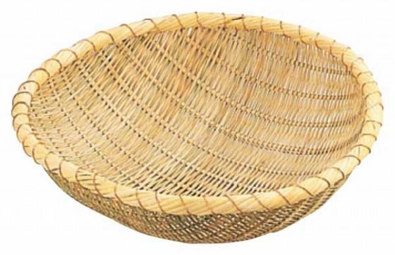476-07 竹製揚ザル 51cm 46002610