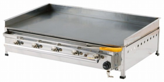 718-05 グリドル 温度調整機能付 TYS750EX プロパン 505001490