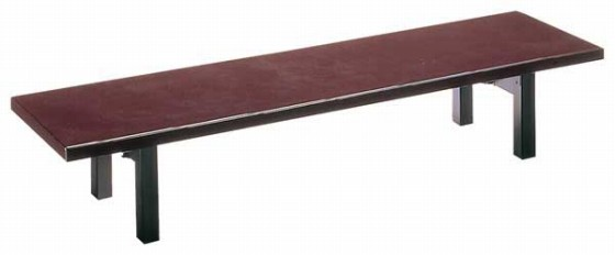 1285-02 宴ハードコーティング塗うるみ乾漆(折脚) 9-51-14 550001940