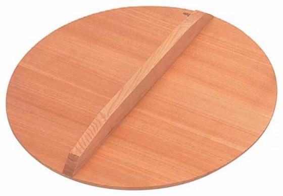 486-07 ENDO サワラ厚手木蓋 45cm 564001160