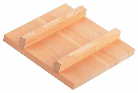 517-06 玉子焼用木蓋 15cm 564001720