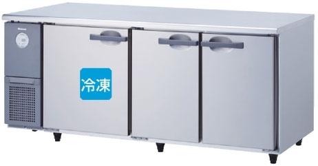 6071S-EC 大和冷機 インバーター制御コールドテーブル冷凍冷蔵庫 エコ蔵くん 幅1800 奥行750 容量528L
