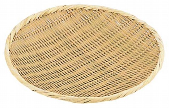 476-09 竹製盆ザル 27cm 641000050
