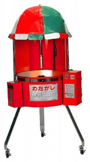 721-01 わた菓子自動販売機CA-6型 664000010