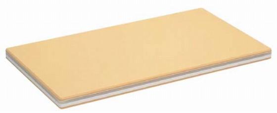 603-02 抗菌 家庭用まな板 ラバーラかるがる L 732005030